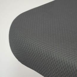 Base Tapizada 3D Reforzada con Patas Gris