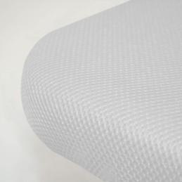 Canguro Tapizado 3D Reforzado Blanco